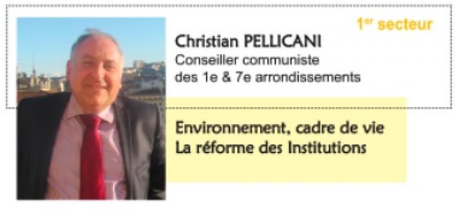 1er secteur de Marseille (1er et 7e arr.). Votre élu du Front de gauche